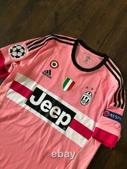 Juventus Chiellini Player Match Issue Worn Jersey Shirt Maglia L Large 8