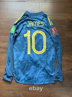 Match Worn Player Issue Colombia James Jersey Shirt Maglia Camiseta S Small