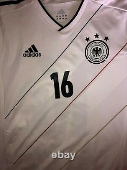 Match worn prepared issue camiseta maglia maillot trikot jersey Germany Lahm
