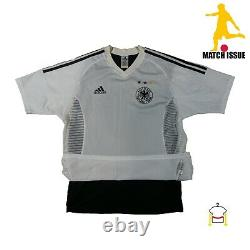 PLAYER ISSUE PROTOTYPE Germany 2002 Home Jersey Shirt Maglia M Worn Trikot Match