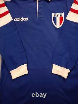 Scarce! France Match Worn Rugby Union Shirt/jersey/maillot/porte No18 Adidas