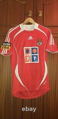 Simão Sabrosa match worn vs Sporting 2006/2007 (1 goal and 1 assist in derby)